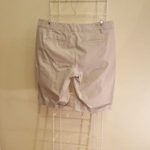 Ann Taylor Shorts - Ann Taylor Cuffed Khaki Shorts